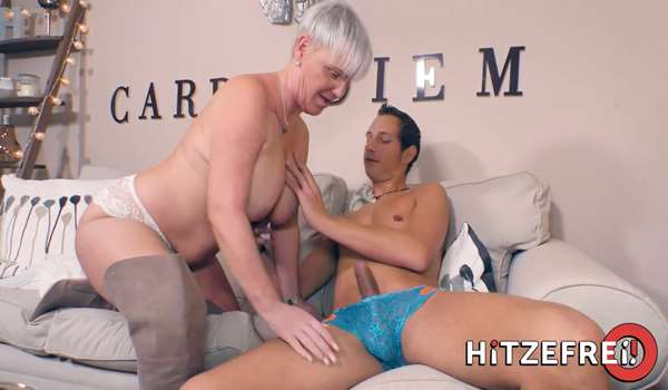 Horny German Gilf