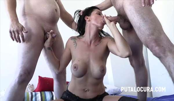 Nina Roca wants 3 cocks for her
