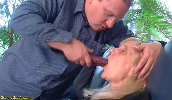 Wild mature anal sex