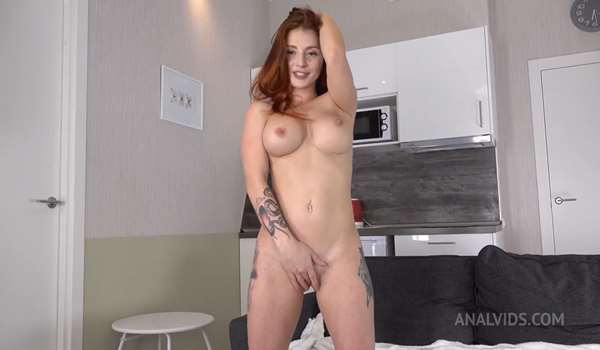 Lelya Hard anal fuck with squirting