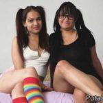 Busty Barbie & Ana Spears – 3some