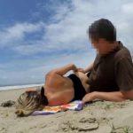 Risky sex on the beach