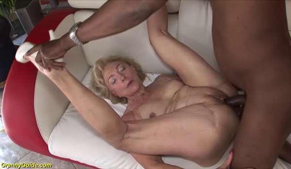 Interracial mature porn