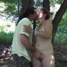 Carola - Hot mom fucked outdoors