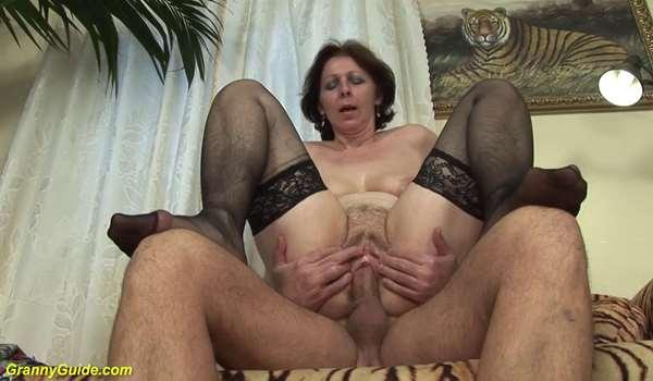 Hot Mom In Nylons