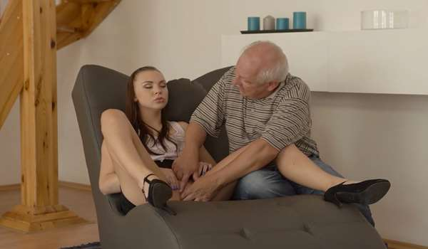 Ornella and her BFs father dick
