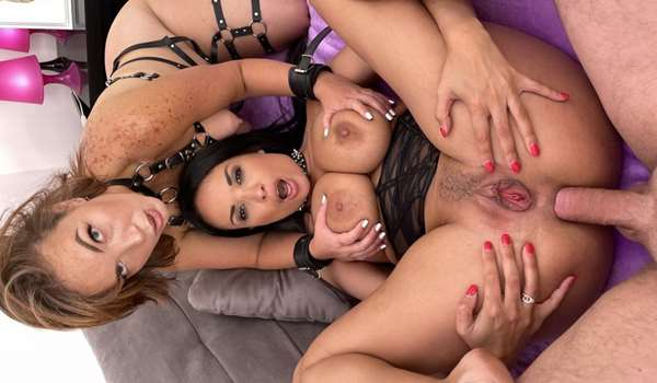 Anal 3some fetish sexual slaves